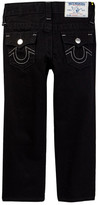 True Religion Straight Leg Black Core Jean (Toddler & Little Boys)