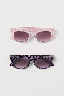 H&M 2-pack Sunglasses - Pink