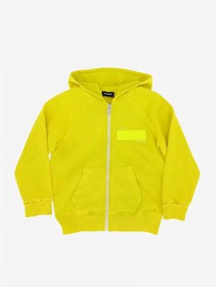 Diesel Sweatshirt With Hood And Zip