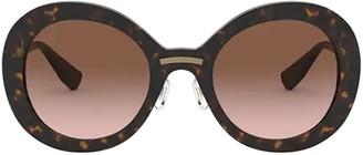 Miu Miu Mu 04vs Havana Sunglasses