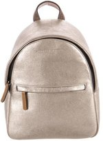 Brunello Cucinelli Metallic Leather Backpack