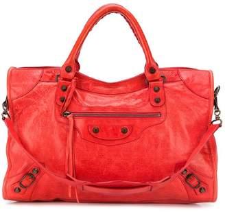 Balenciaga Pre Owned City satchel bag
