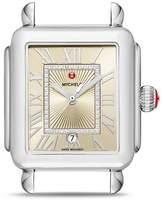 Michele Deco Madison Watch Head, 33mm x 35mm