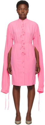 Burberry Pink Silk Joyce Dress