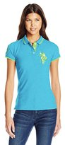 U.S. Polo Assn. Juniors' Solid Pique Polo Shirt