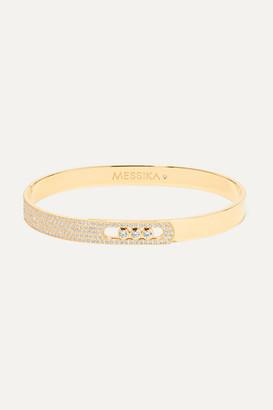 Messika Move Noa 18-karat Gold Diamond Bangle - one size