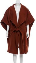 Apiece Apart Long Belted Poncho