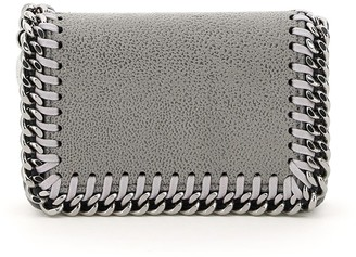 Stella McCartney Front Flap Closure Card Pouch