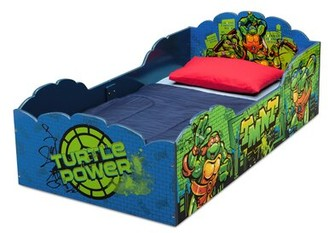 Delta Children Teenage Mutant Ninja Turtles Toddler Bed