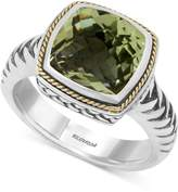Effy BALISSIMA by Green Amethyst (4 ct. t.w.) Ring in 18k Gold and Sterling Silver