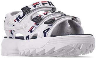 Fila Women Disruptor Logo Athletic Sandals from Finish Line