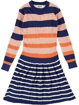 Molo Carlin (Little Kids/Big Kids) (Faded Stripe) Girl's Clothing
