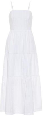 Heidi Klein Fraser Island seersucker maxi dress