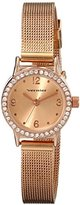 Vernier Women's VNR11182SS Crystal-Accented Watch