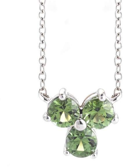 Tiffany & Co. 18KW Gold and Green Tourmaline Aria Necklace