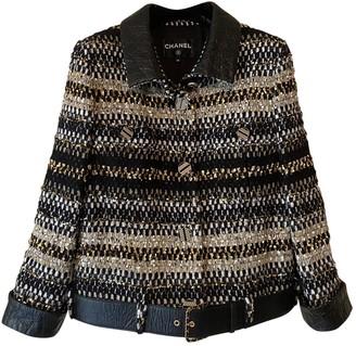 Chanel Black Tweed Jackets