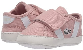 Lacoste Kids Sideline Crib 120 1 CUB (Infant/Toddler) (Natural/White) Kid's Shoes
