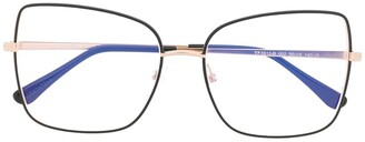 Tom Ford FT5613B square-frame glasses