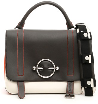 J.W.Anderson Tricolor Disc Satchel Bag