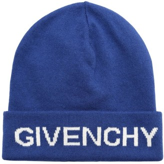 Givenchy Knit Cotton & Cashmere Beanie Hat