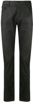 Emporio Armani Straight-Leg Five-Pocket Jeans