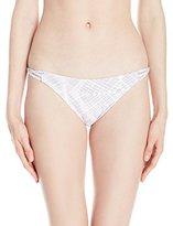 O'Neill Women's Vida Criss Cross Tab Side Bikini Bottom