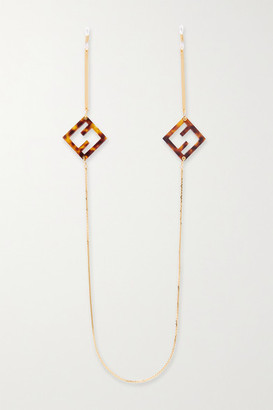 Fendi Gold-tone Tortoisehsell Sunglasses Chain