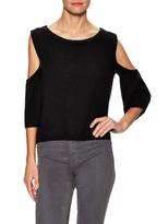 Cashmere Cold Shoulder Tee