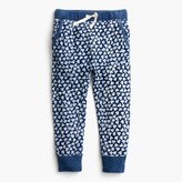 J.Crew Girls' sweatpant in allover hearts