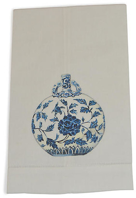 Set of 2 Jar Guest Towels - Blue - The French Bee