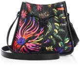 3.1 Phillip Lim Soleil Mini Printed Leather Drawstring Bucket Bag