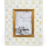 """Mackenzie Childs MacKenzie-Childs - Parchment Check Enamel Frame - 5""""x7"""