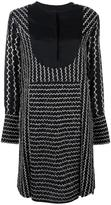 Sportmax embroidered shift dress