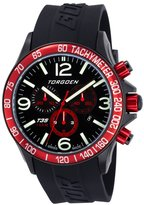 Torgoen Pilot T35 Series T35304 45.5mm Ion Plated Stainless Steel Case Polyurethane Mineral Men's Watch
