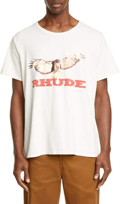 Rhude Eagle Graphic T-Shirt
