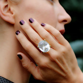"Joan Hornig Empower"" Kunzite Cocktail Ring"