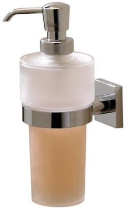 Valsan Bathrooms Braga Liquid Soap Dispenser, Satin Nickel
