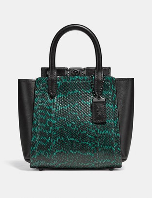 Coach Troupe Tote 16 In Snakeskin