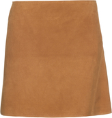 Courreges Suede mini skirt