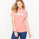 Anne Weyburn Combed Cotton Piqu Polo Shirt