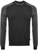 Ted Baker Crew Neck Pepmint Jumper Grey