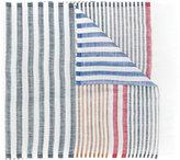 Salvatore Ferragamo striped scarf - women - Silk/Linen/Flax - One Size