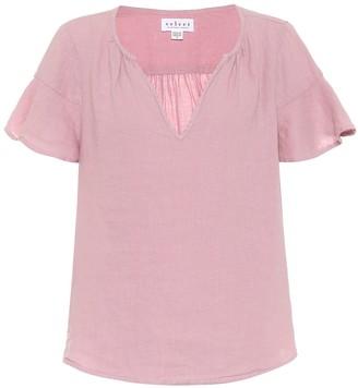Velvet Exclusive to Mytheresa a Jennifer linen blouse