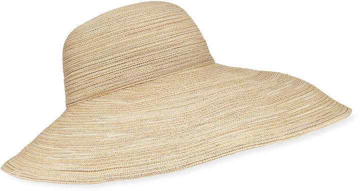 Kokin Bicolor Wave Floppy Packable Sun Hat