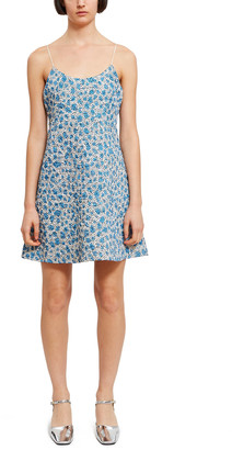 Opening Ceremony Printed Quilted Dress