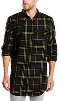 Cheap Monday Men's Hid Regular Fit Long Sleeve Casual Shirt
