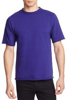 Paul Smith Raw Edge Short Sleeve Sweatshirt