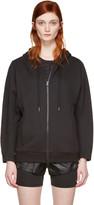 adidas by Stella McCartney Black Ess Zip-up Hoodie