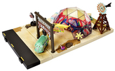Mattel Cars Precision Series Fillmore's Taste-In Play Set