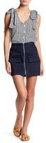 J.o.a. Front Zip Skirt
